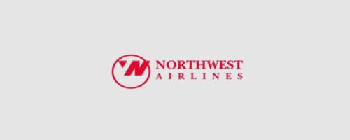 Logo của Northwest Airlines thiết kế bằng corel